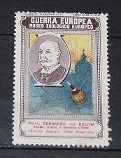 DELANDRE CINDERELLA 1915 ITALIE GUERRE 14-18 MARUCELLI ZOO BERNHARD VON BÜLOW