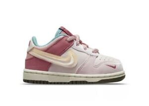 """Nike Dunk Low x Social Status """"Strawberry Milk"""" TD Size 6C NEW CONFIRMED ORDER"""