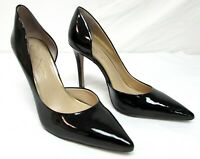 Jessica Simpson women's size 9.5 M black patent leather high heel pumps