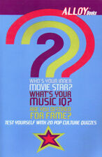 Who's Your Inner Movie Star? What's Your Music IQ? Are You Desined for Fame?