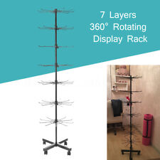 7 Level Rotating Display Stand Rack Shop Display Rotate Spin Jewelery Bag Hanger