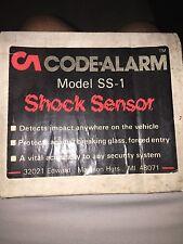 code alarm Model SS-1 Car Alarm Shock Sensor VINTAGE COLLECTIBLE RARE OLD SCHOOL