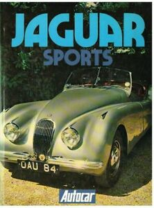 JAGUAR SS90/100 XK120/140/150 XKSS D/E/S-TYPE XJ6 XJS 1935-79 MODEL HISTORY BOOK