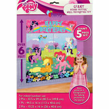 Amscan My Little Pony Happy Birthday Scene Setter Wall Party Decorating Kit