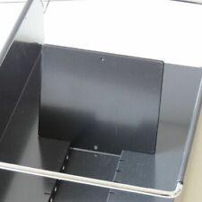 * 1 USM Haller Karteikartenhalter * Sortierkasten Ablage * Karteikarten schwarz