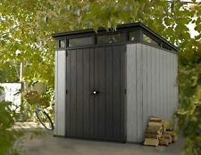 Keter Artisan 7x7 Oakland Garden Shed - 10 Year Warranty - Fast Dispatch