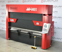 NEW MP3003 10' 140 TON HYDRAULIC PRESS BRAKE INCLUDES THE R AXIS PUNCH AND 4 WAY