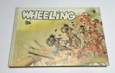 """HUGO PRATT """"WHEELING"""", ARCHIVIO INTERNAZIONALE DELLA STAMPA, 1A EDIZIONE 1972."""