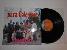 LP-PARA COLOMBIA NELSON Y SUS ESTRELLAS ON DISCOMODA REC..HEAR IT!