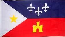 NEW 3ftx5 ACADIA ACADIAN LOUISIANA CAJUN CREOLE FLAG better quality usa seller