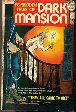 Forbidden Tales Of Dark Mansion #5 (1972) Dc Comics Vg+