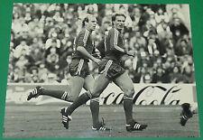 PHOTO PRESSE FOOTBALL FUSSBALL BUNDESLIGA 1982 DIETER HOENESS KALLE RUMMENIGGE