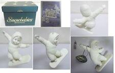2000 Dept 56 Snowbabies Smooth Moves 56.05706 In Original Box w Tag (N42)
