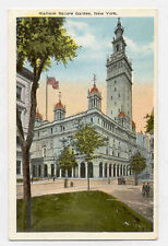 NEW YORK CITY MADISON SQUARE GARDEN OLD POSTCARD PC3137