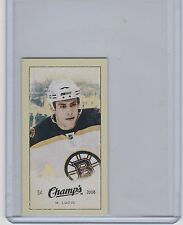 09-10 2009-10 UPPER DECK CHAMP'S MILAN LUCIC MINI RED BACKS 202 BOSTON BRUINS