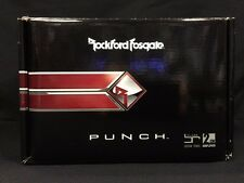 NEW ROCKFORD FOSGATE PUNCH PBR300X2 MINI AMP MOTORCYCLE 300 WATT RMS PBR 300X2