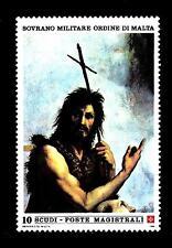SMOM - 1986 - San Giovanni Battista. Dipinto di Raffaello
