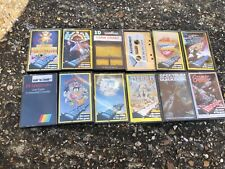 Lot of 12 Vintage Sinclair ZX SpectrumGames MOLAR MAUL stonkers pedr By Imagine
