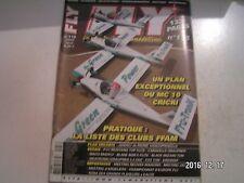 ** Revue Fly International n°178 Plan encarté Janveu / P-51 Mustang Top Flite