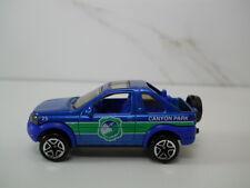 Matchbox Land Rover Freelander Blue Canyon Park 1/64 Scale JC36