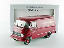 Norev –183416 – Mercedes-Benz L319 Porsche –1960 – Red Bus – Scale – 1/18