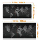 Extended Gaming Mouse Pad Large Size Desk Keyboard Mat 800 X 300MM 900 X 400MM