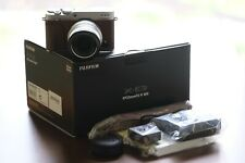 Fujifilm X-E3 Digital Camera kit with XF 23mm f/2 Lens - Brown & Silver XE3 XE-3