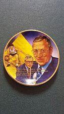 """John Wooden 3 1/4"""" Gartlan Plate - Ucla"""