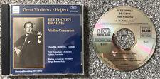 Beethoven - Brahms - Violin Concertos - Jascha Heifetz - Naxos CD 8.110936