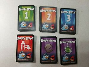 Lot Of Angry Birds Space Game Replacement Parts Cards Only