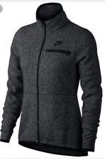 Nike Vêtements de Sport Femmes Gilet en Tricot Noir Heather/Noir S