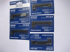 5 x Original Epson ERC-09B Ribbon  M-163 M164 M181 M182 M183 M185 191 192 195