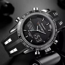 Reloj de Pulsera INFANTRY Hombre Cuarzo Led Digital Militar Deportes