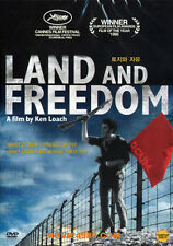 Land and Freedom (1995) / Ken Loach / Ian Hart / DVD SEALED