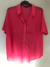 French Connection Pink Shirt/Top Size L BNWT