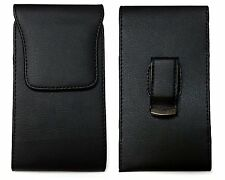 Vertical Belt Clip Holster Leather Pouch Cover Case for Huawei Raven LTE H892L