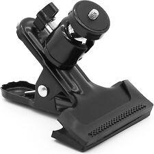 PAB Tripod Camera Clip Camera Clamp Flash Reflector Holder Mount for Studio Back