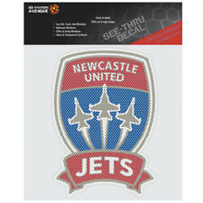 Newcastle Jets iTag See-Thru Decal Sticker