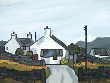 David Barnes - Original Oil Painting - A Farm Near Ruthin. Wales. Welsh Art.