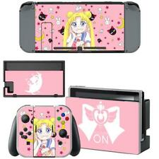 Crystal Sailor Moon Anime Nintendo Switch Joy-Con Dock Vinyl Skin Stickers Decal