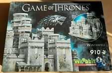 """Puzzle 3D """"Winterfell - Game of Thrones"""""""""""