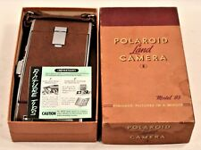 The First Polaroid Land Camera Model 95 with original box and literature c.1950