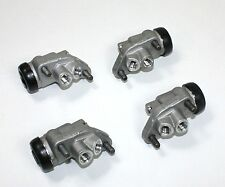 SET OF 4 FRONT BRAKE WHEEL CYLINDERS FOR THE AUSTIN HEALEY 100/4 1954-1955