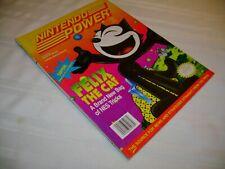 Nintendo Power Magazine Vol #40 - Felix the Cat Edition W/ Spider-Man Poster!
