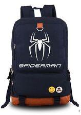 Spiderman Backpack School Bag Children Student Boys Girls Luminous Design hot