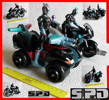 Powerrangers Powerranger SPD Power Ranger Figur Figuren Motorrad Quad Bandai