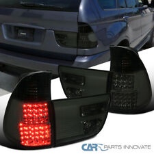 For 00-06 BMW E53 X5 LED Smoke Rear Tail Brake Lamps Tinted Parking Trunk Lights