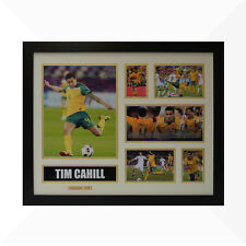 Tim Cahill Signed & Framed Memorabilia - Ivory/Gold - Limited Edition