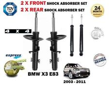 FOR BMW E83 X3 + XDRIVE 2004->NEW 2x FRONT + 2x REAR SHOCK ABSORBER SHOCKERS SET