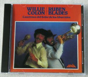WILLIE COLON / RUBEN BLADES / CANCIONES DEL SOLAR DE LOS ABURRIDOS CD 1981 LATIN